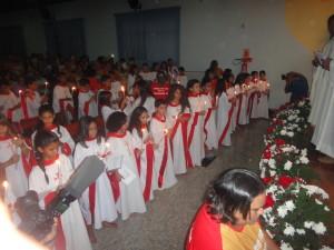 Primeira Eucaristia Colégio São José 2015 – Educando e Evangelizando.